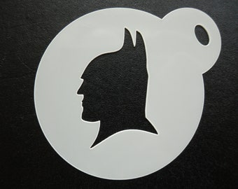 Unique bespoke new 60mm bat silhouette cookie, craft & face painting stencil