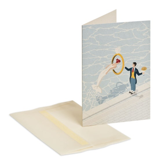 WILL YOU MARRY me. Funny wedding proposal card. Will you marry me. Engagement party invitation. Mermaid and groom. Love message for bride.