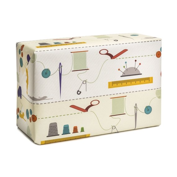 THE DREAM. Wrapping paper. Decorative craft paper. For sewing lovers. For knitters. For mom. For wife. For girlfriend