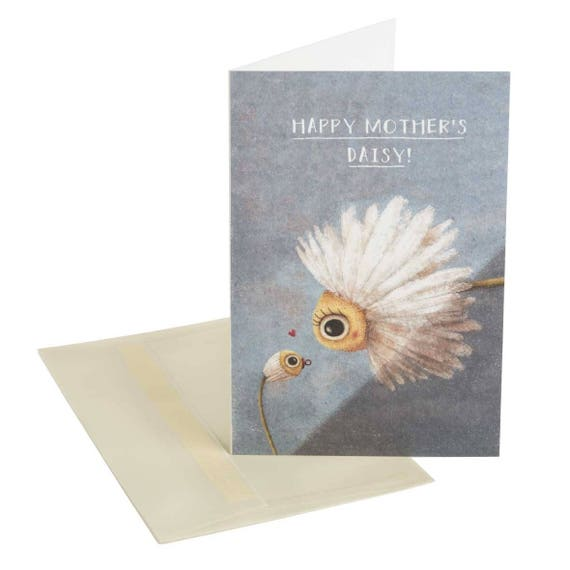 MOTHER'S DAISY. Mother's Day card. Plant mom. Floral. Mommy and me. For mom. For grandma