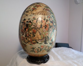 royal satsuma decorative egg