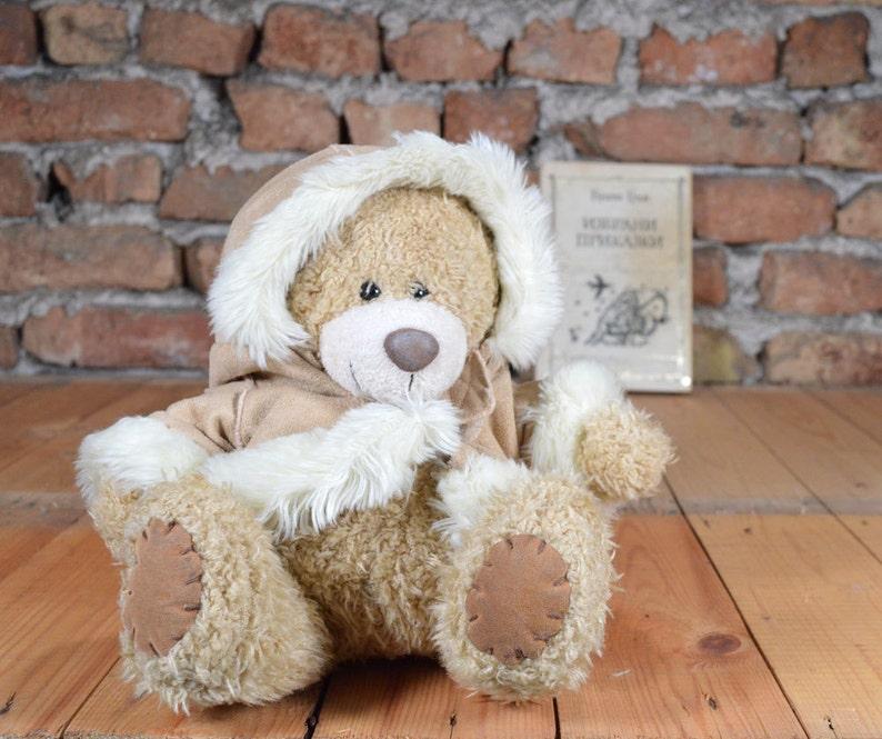 Stuffed Animals Gift Idea Teddy Bear Small Plush Bear Toys Kids Girl Vintage Bear Old Teddy Bear Stuffed Animal Nursery Decor