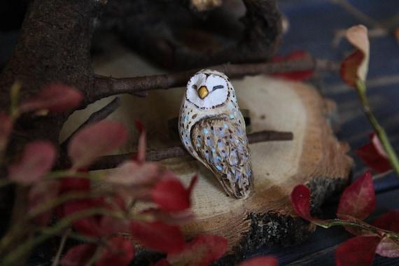 Owl Ring, Witch Owl Jewelry, Celtic Owl Statement Ring, Barn Owl Totem Jewelry, Druid Owl Ring, Fairy Jewelry