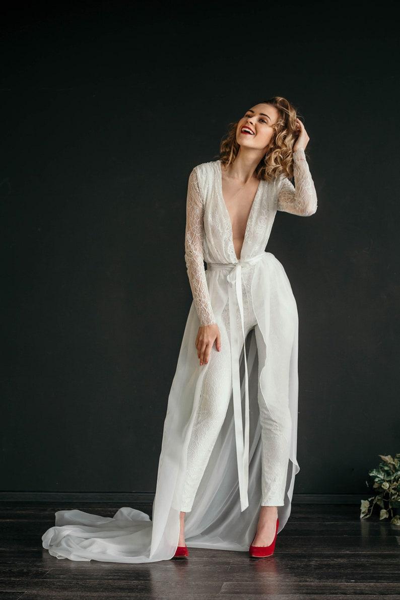 Bridal jumpsuit MANU | Stay at Home Mum