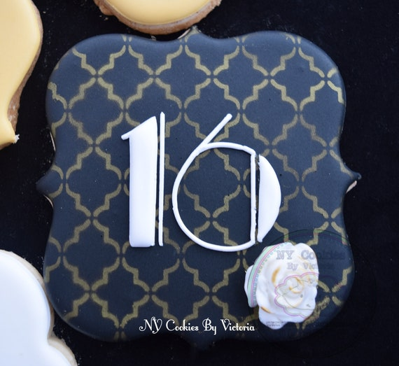 The Great Gatsby Theme Cookies