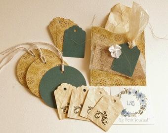 Embellishment Paper Pack (11 pieces)