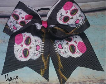 Owls Cheer Bow