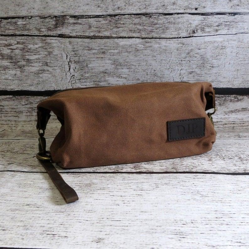 28b7a8a69d Dopp kit for men Travel kit Toiletry Bag Gifts for Men