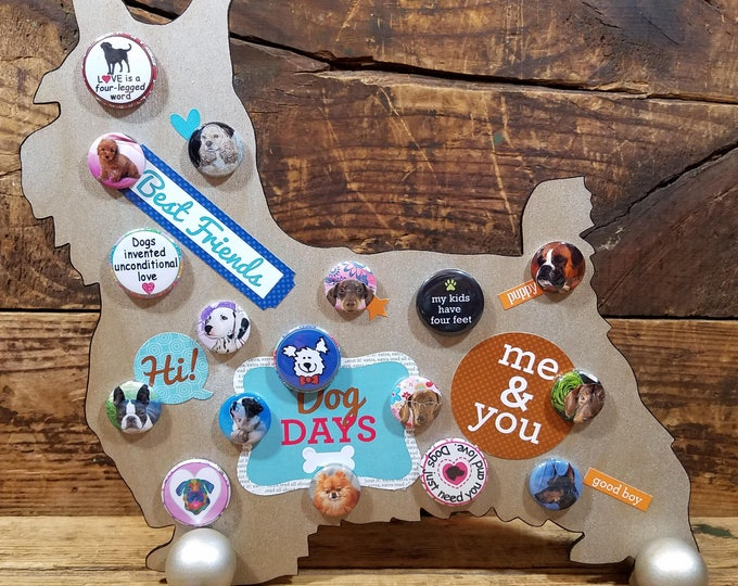 Dog Days Free Standing Dog
