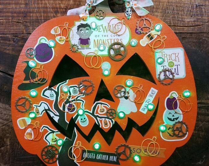 Cute Monsters Pumpkin (PUM11616-2)