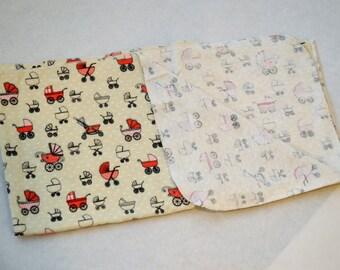 Flannel Receiving Blanket - Perambulator
