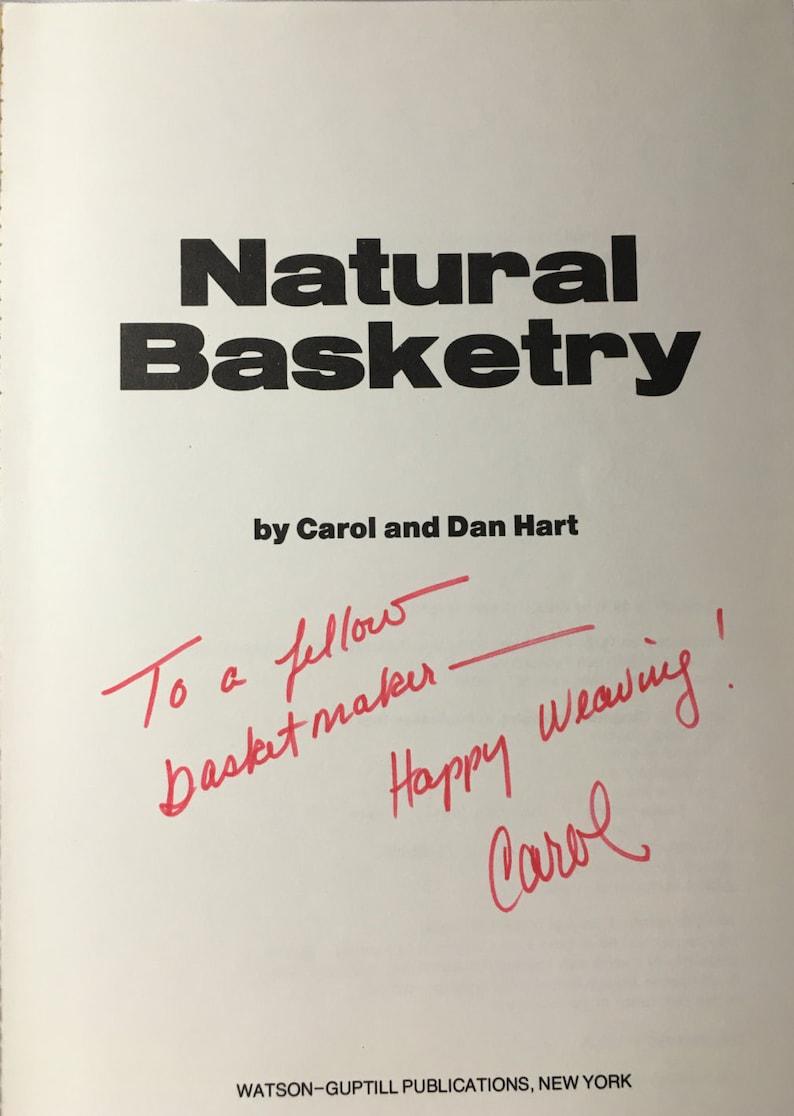 Carol and Dan Hart Natural Basketry