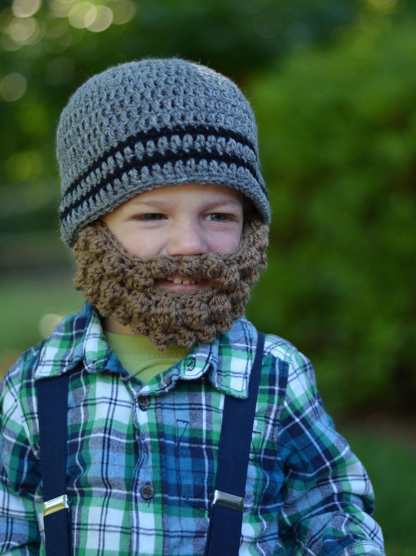 Bärtigen Baby Baby-Holzfäller-Hut Holzfäller Bart