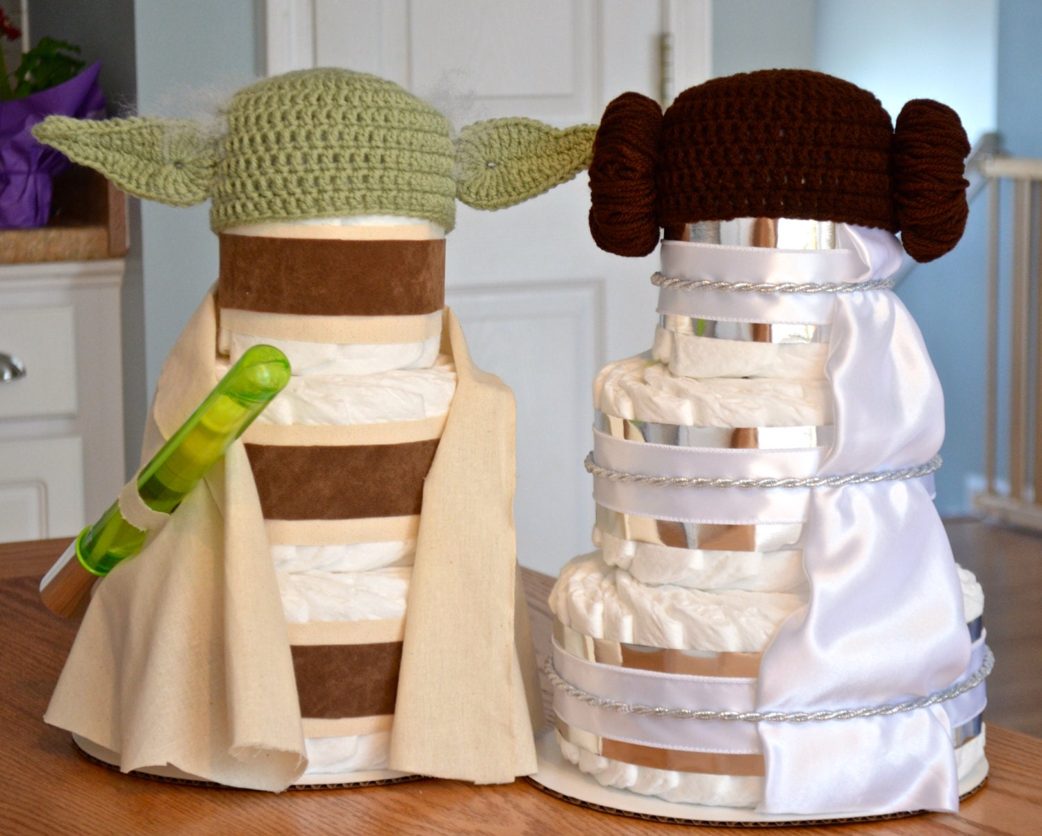Star Wars Themed Baby Shower Centerpieces or Decorations ...