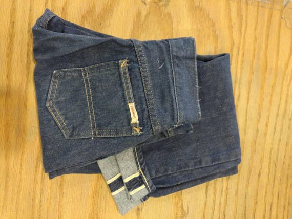 1950's JCP Foremost Selvedge Kid's Jeans Sz 10 - M