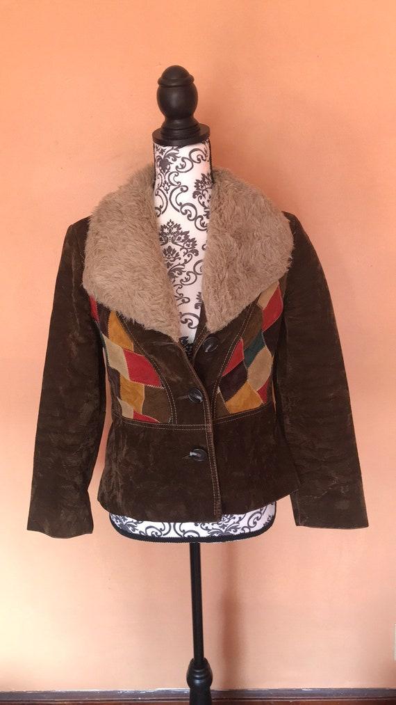 70's Autumn Suede Jacket