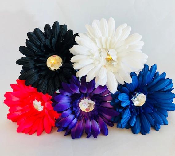 Daisy Rainbow Assorted Flower Pen