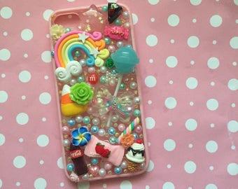 Iphone 7 decoden phone case decoden cute candy  case bumper case