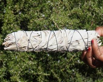 Large California White Sage Smudge Stick Bundle