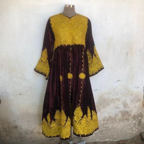 Afgani dress, Costume, Pashtun, vintage kuchi dres