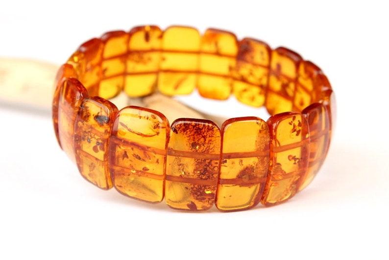 230561c50fd Bracelet ambre Cognac bijoux en ambre ambre de la Baltique