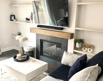 Fireplace Mantle, Wood Beam Mantel, Mantel Shelf, Mantle Beam, Fireplace Beam, Floating Shelf, Mantle
