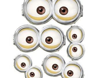 photograph regarding Printable Minion Eye titled MINION Minion Online video Minion Goggles Immediate Down load Etsy