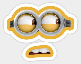 picture regarding Minion Mouth Printable named MINION Minion Video Minion Mouths Evil Red Minion Etsy