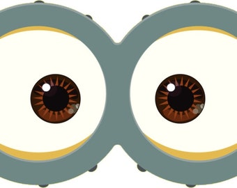 photo regarding Minion Goggles Printable identified as MINION Minion Video clip Minion Goggles Prompt Obtain Etsy