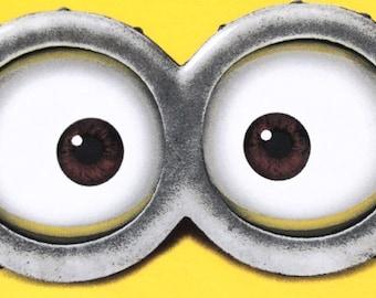 picture relating to Minion Eye Printable known as MINION Minion Video clip Minion Eyes Evil Crimson Minion Etsy