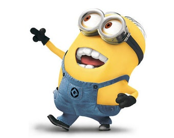 image about Printable Minion referred to as Minion video clip Etsy