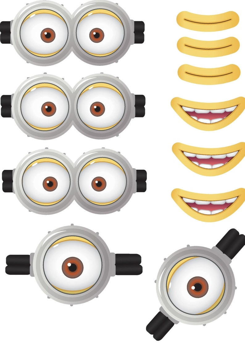 graphic relating to Minion Printable Images identify MINION - Minion Video - Minion Eyes - Minion Mouths - Prompt Obtain - Occasion Prefer - Electronic Printable Style - Minion Printable