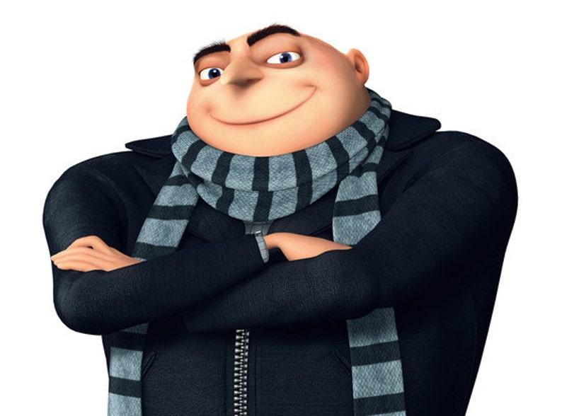 Gru GRU Despicable Me Download immediato digitale  bbe57c348d3c