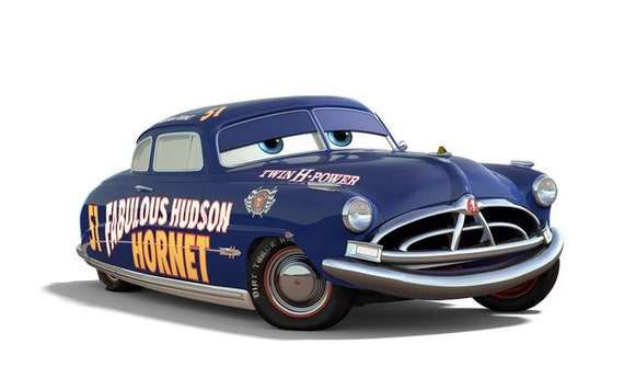 doc hudson cars movie instant download digital printable. Black Bedroom Furniture Sets. Home Design Ideas