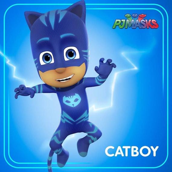 catboy pj masks instant download digital printable etsy