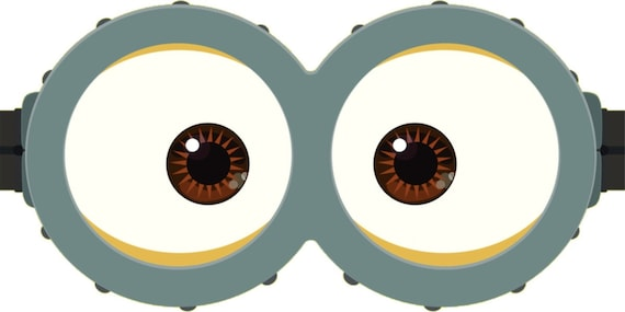 picture about Minion Printable Eyes identify MINION - Minion Video clip - Minion Eyes - Instantaneous Obtain - Occasion Like - Electronic Printable - Minion Printable