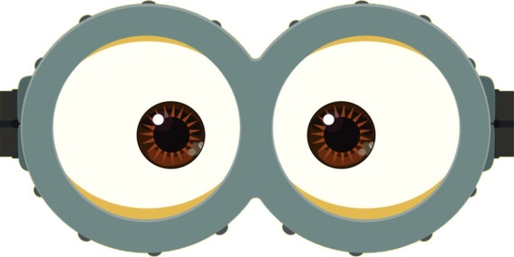 photo regarding Minion Goggle Printable named MINION - Minion Video - Minion Eyes - Immediate Obtain - Celebration Prefer - Electronic Printable - Minion Printable