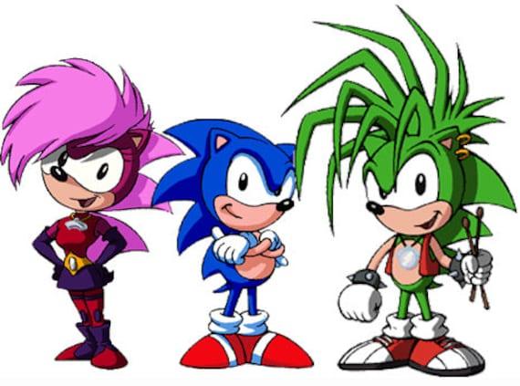 SONIC SONIA MANIC Sonic Underground