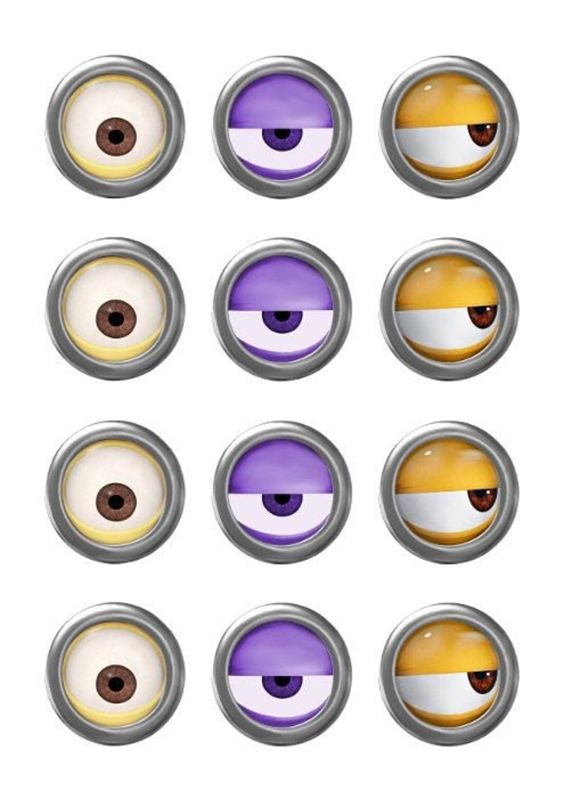 photo about Minion Eyes Printable referred to as MINION - Minion Video - Minion Eyes - Immediate Obtain - Get together Like - Electronic Printable - Minion Printable