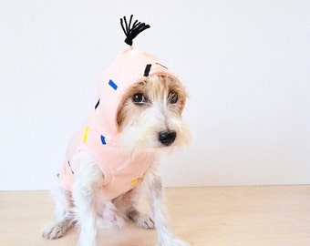 Dog Clothes Dog Hoodie / Party Popper