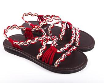 c0d173da4e3e Handmade rope sandals
