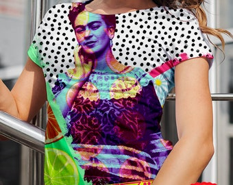 frida kahlo shirt, frida kahlo, frida kahlo clothing, frida kahlo clothing, frida kahlo tshirt, mexican blouse, mexican tshirt for woman