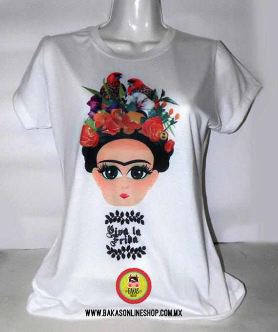 556b8815c Frida Kahlo Shirt Frida Kahlo Shirt Beautiful t-shirt Little | Etsy