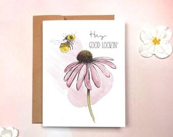 Love - Sweet and Sassy Bee Flirty Card
