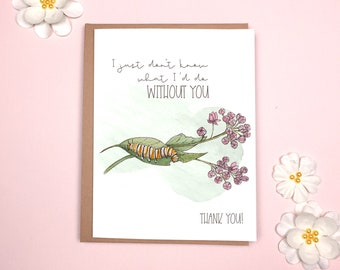 Mother's Day - Caterpillar Card
