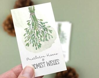 Mistletoe Mini Cards