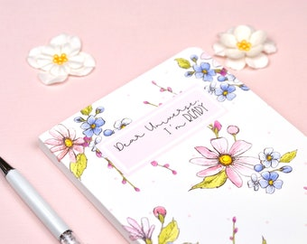 Personal Journal with Floral Design