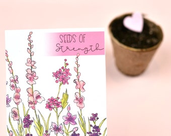 Seeds of Strength Wildflower Seed Packet