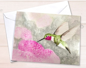 Hummingbird cards