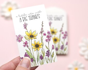 Little Thank You Mini Cards